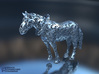 Horse Filigree 3D 3d printed