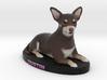 Custom Dog Figurine - Dustin 3d printed