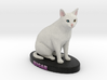 Custom Cat Figurine - Sugar 3d printed