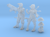 Test Figures 3d printed
