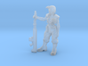 28mm Guards woman sergeant 3d printed
