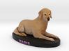 Custom dog figurine - Maris 3d printed