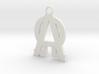 Alfa-omega  3d printed
