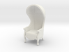 1:24 Half Scale Untextured Carrosse Chair 3d printed