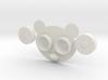 Panda Contact Lens Case 3d printed