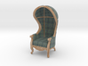 1:24 Half Scale Highland Plaid Carrosse Chair 3d printed