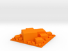 Square packing, extruded 3d printed