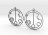Gabrielle - Earrings - Series 1 3d printed