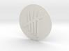 Tally Mark Pendant style 2 3d printed