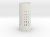 Tower 2x= 350 + 300 + conical roof 63x50    2015-0 3d printed