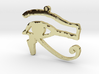 Egyptian Eye of Horus Necklace Pendant 3d printed