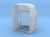 N scale NS 6900 Crescent Cab - Solid Numberboards 3d printed