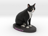 Custom Cat Figurine - Smokey 3d printed