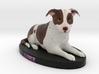 Custom Dog Figurine - Luke 3d printed