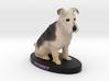 Custom Dog FIgurine - Benny 3d printed