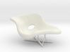 1:12 Eames La Chaise 3d printed