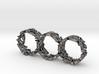 Triple Coral Rings 3d printed