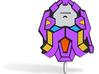 Quantum Mechanic Badge  3d printed