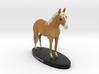 Custom Horse Figurine - Dancer 3d printed