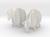 Wooden Sheep 1:24 3d printed