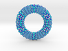 0174 Torus with pattern picture (5cm) #001 3d printed