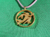 Running Wizard Pendant 3d printed obverse