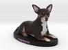 Custom Dog Figurine - Cheech 3d printed