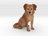 Custom Dog Figurine - Clover 3d printed