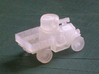 Armoured Car for Car Wars etc. 1/72 scale. 3d printed