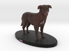 Custom Dog Figurine - Rex 3d printed