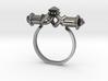 Serpent Capsule Ring - Sz. 5 3d printed