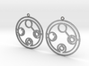 Belinda - Earrings - Series 1 3d printed