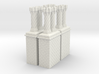 CB-09 Tudor Chimneys With Stacks 3d printed