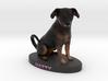 Custom Dog Figurine - Natty 3d printed