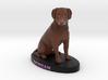 Custom Dog Figurine - Morgan 3d printed