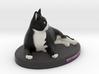 Custom Cat Figurine - Meowingtons 3d printed