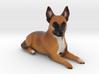 Custom Dog Figurine - G 3d printed
