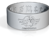 Agonoize Ring Logo1 3d printed