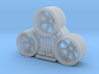 GALACTIKA REBELL VIPER NOZZLES FULL SIZE MODEL 3d printed