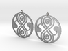 Rassilon - Earrings - Series 1 3d printed