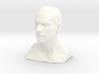 Man head in 3cm Passed 3d printed