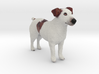 Brown Jack Russell Terrier 3d printed