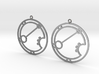Ariana - Earrings - Series 1 3d printed