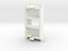 Euro Module for Dual LC Fibre coupler 3d printed