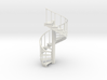 10' Spiral Stair Left Railing 1:48 3d printed