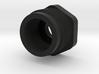 Delta Shock Cylinder Nut, 1257 3d printed