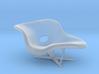 Eames La Chaise 1:48 3d printed