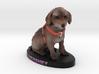 Custom Dog Figurine - Hershey 3d printed