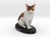 Custom Cat Figurine - Jazz 3d printed