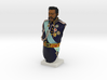 1:10 scale Full Color Kalakaua Bust 3d printed